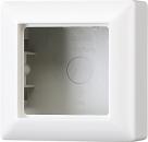 AS581AWW АS 500 Бел Коробка 1-я для накладного монтажа