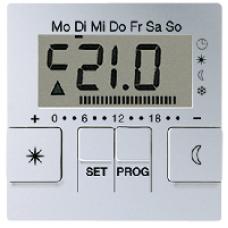 AUT238DAL А 500 АлюминийДисплей термостата с таймером(мех. UT238E)