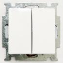 1012-0-2144 (2006/6/6 UC-94) BJB Basic 55 Бел Переключатель 2-х клавишный