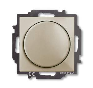B 2251 UCGL-92 BJB Basic 55 DIY Беж Светорегулятор поворотно-нажимной 60-400 Вт для л/н