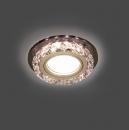 Светильник Gauss Backlight BL044 Кругл. Кристалл/Хром, Gu5.3, LED 2700K 1/40