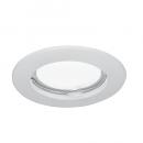 Светильник Gauss Metal CA001 Круг. Белый, Gu5.3 1/100
