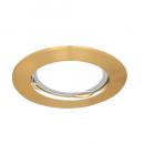 Светильник Gauss Metal CA002 Круг. Золото, Gu5.3 1/100