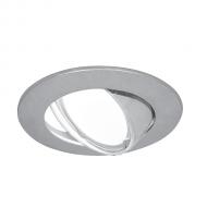 Светильник Gauss Metal CA006 Круг. Хром, Gu5.3 1/100