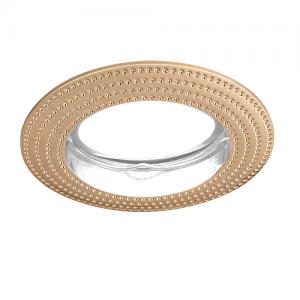 Светильник Gauss Metal CA010 Круг. Золото, Gu5.3 1/100