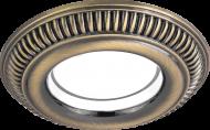 Светильник Gauss Antique CA020 Круг. Светлая Бронза, Gu5.3 1/100