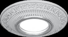 Светильник Gauss Antique CA026 Круг. Белый/Серебро, Gu5.3 1/100