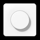 CD1540WW CD 500/CD plus Белая Накладка светорегулятора поворотного
