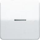 CD1561.07FKO CD 500/CD plusБеж Накладка светорегулятора/выключателя нажимного с ДУ(радио) с индикацией