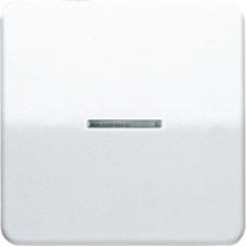 CD1561.07UWW CD 500/CD plusБел Накладка светорегулятора/выключателя нажимного с индикацией