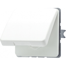CD520KIWU CD 500/CD plusБеж Розетка с/з с защитными шторками с крышкой