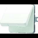 CD520KIWUGN CD 500/CD plusЗеленый Розетка с/з с крышкой и защитными шторками
