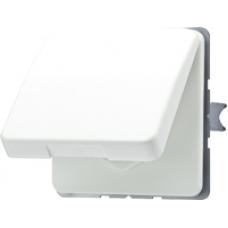 CD520KIWUO CD 500/CD plusОранжевый Розетка с/з с крышкой и защитными шторками