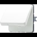 CD520KIWUWW CD 500/CD plusБел Розетка с/з с защитными шторками с крышкой
