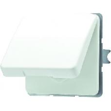 CD520WUGN CD 500/CD plusЗеленый Розетка с/з с крышкой