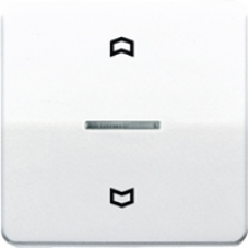 CD5232GR CD 500/CD plusСерый Накладка нажимного электронного жалюзийного выключателя