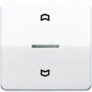 CD5232PT CD 500/CD plusПлатина Накладка нажимного электронного жалюзийного выключателя
