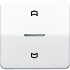 CD5232SW CD 500/CD plusЧерный Накладка нажимного электронного жалюзийного выключателя