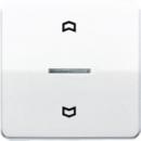 CD5232WW CD 500/CD plusБел Накладка нажимного электронного жалюзийного выключателя