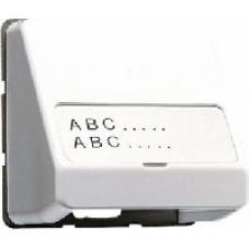 CD554WW CD 500/CD plusБел Корпус для разъемов с полем для надписи 23х59мм