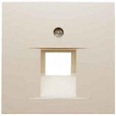 CD569-1UALG CD 500/CD plusСветло-серый Накладка 1-ой наклонной ТЛФ/комп розетки