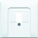 CD569TLG CD 500/CD plusСветло-серый Крышка для ТАЕ-розетки, моно/стерео-аудиорозетки