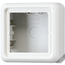 CD581ABR CD 500/CD plusКоричневый Коробка накладная 1-кратная, 85х85х47мм