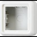 CD581AWW CD 500/CD plusБел Коробка для накладного монтажа 1-я с рамкой