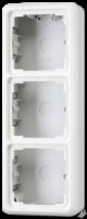 CD583AW CD 500/CD plusБеж Коробка для накладного монтажа 3-я с рамкой