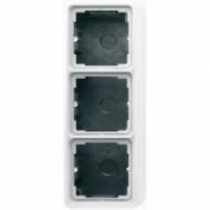 CD583AWW CD 500/CD plusБел Коробка для накладного монтажа 3-я с рамкой
