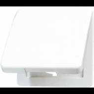 CD590BFKL CD ударопр. БежОткидная крышка для розеток и изделий 50х50