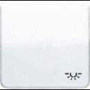 CD590BFLWW CD ударопр. БелКлавиша для 1-я с символом ОСВЕЩЕНИЕ