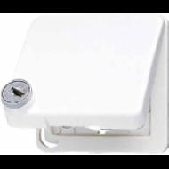 CD590BFSLKLWW CD ударопр. Бел Откидная крышка с замком для изделий 50х50