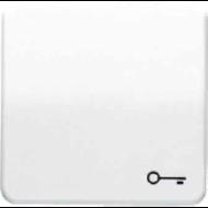 CD590BFTWW CD ударопр. БелКлавиша для 1-я с символом КЛЮЧ