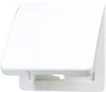 CD590KLGR CD 500/CD plusСерый Откидная крышка для розеток и изделий 50х50