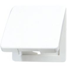 CD590KLPT CD 500/CD plusПлатина Откидная крышка для розеток и изделий 50х50