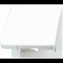 CD590KLSW CD 500/CD plusЧерный Откидная крышка для розеток и изделий 50х50