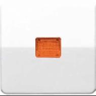 CD590KOBF CD ударопр. БежКлавиша для 1-я с/п с оранжевой линзой