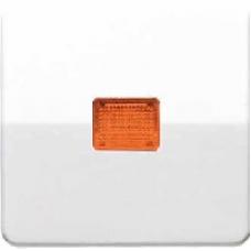 CD590KOBFWW CD ударопр. БелКлавиша для 1-я с/п с оранжевой линзой