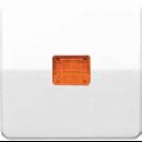 CD590KOWW CD 500/CD plusБел Клавиша 1-я с/п с оранжевой линзой