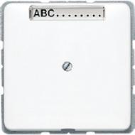 CD590NAAWW CD 500/CD plusБел Вывод кабеля с полем для надписи