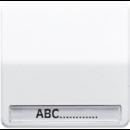 CD590NABFWW CD ударопр. БелКлавиша для 1-я с полем для надписи