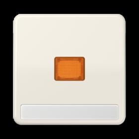 CD590NAKO CD 500/CD plusБеж Клавиша 1-я с/п с оранжевой линзой с полем для надписи