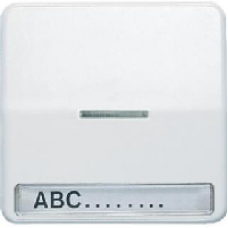 CD590NAKO5GR CD 500/CD plusСерый Клавиша 1-я с/п с полем для надписи