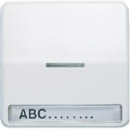 CD590NAKO5SW CD 500/CD plusЧерный Клавиша 1-я с/п с полем для надписи