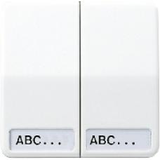 CD595NABR CD 500/CD plusКоричневый Клавиша 2-я с полем для надписи