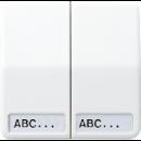 CD595NALG CD 500/CD plusСветло-серый Клавиша 2-я с полем для надписи