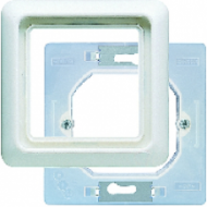 CD681WUWW CD ударопрочн.Бел Рамка 1-я IP44