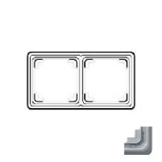 CDP582LG CD plus Светло-серый Рамка 2-я