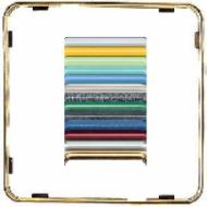 CDP81GGO CD plus Внутренняя цветная рамка Полированное золото